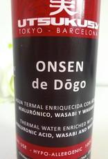 Utsukusy Shashimi Onsen de Dogo thermal water