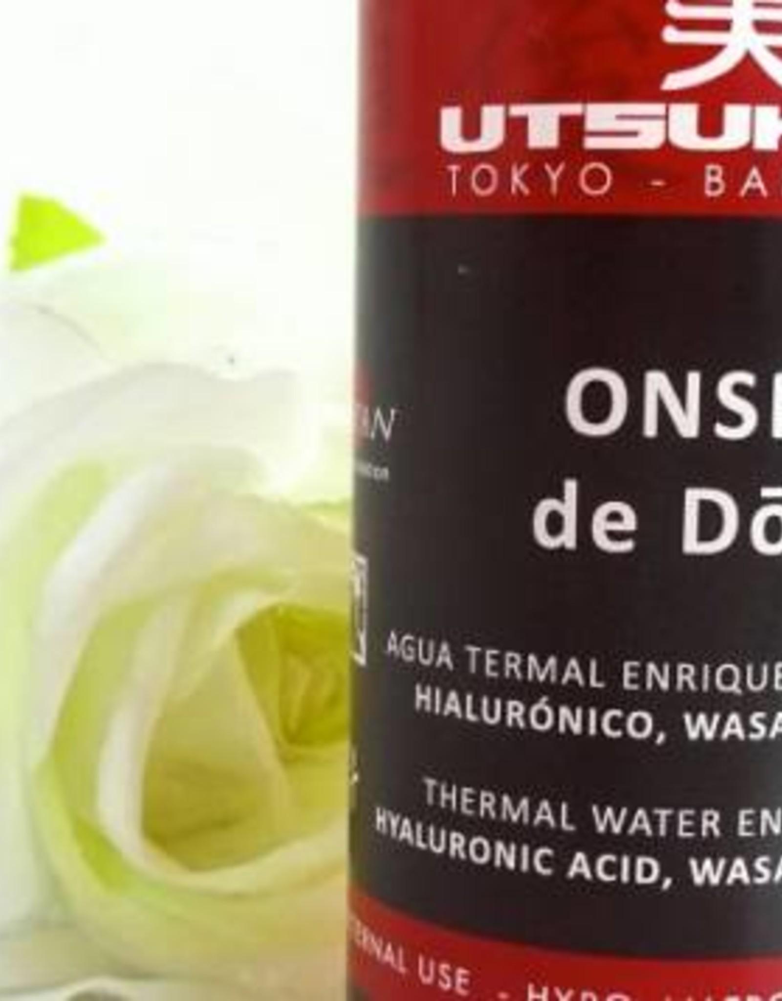 Utsukusy Shashimi Onsen de Dogo thermaal water