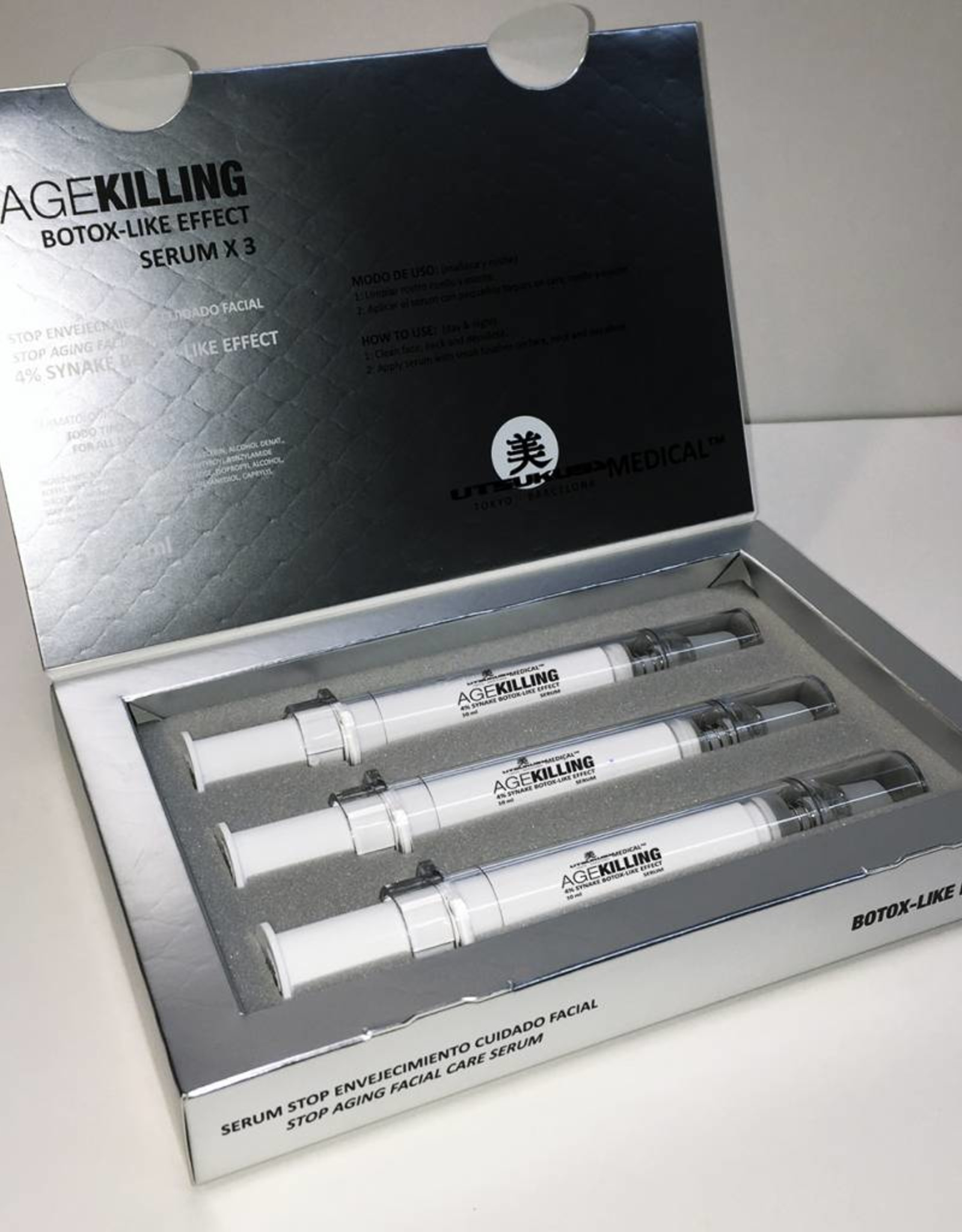 Utsukusy Age Killing serum box