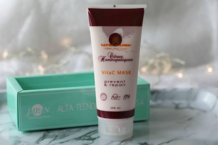 Review: Utsukusy Citrus Homeopatique Vitamine C masker