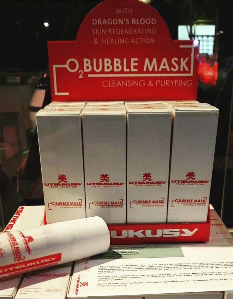 Utsukusy Oxigen Bubble Mask