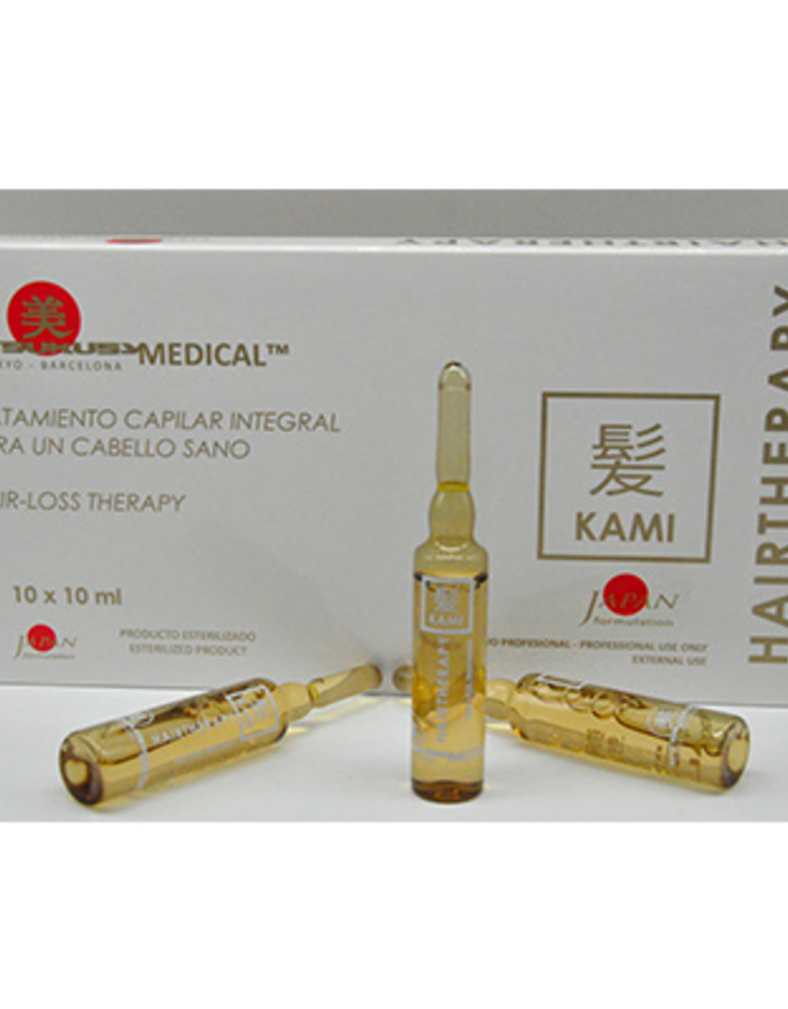 Utsukusy Kami Ampoules against hair loss