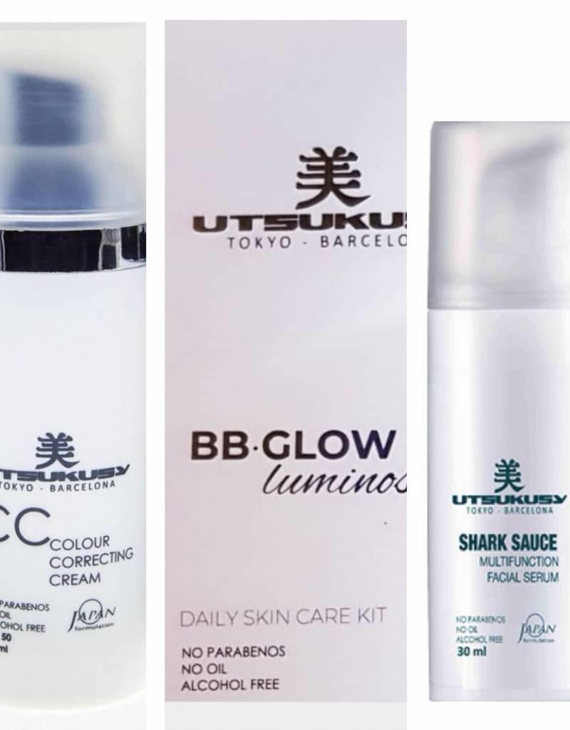 Utsukusy BB Glow Luminosity beauty box - CC  - Feestdagen aanbieding