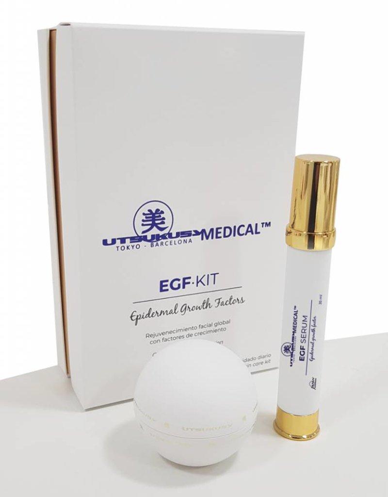Utsukusy Plasma Skin EGF Feestdagen home care kit