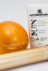 Utsukusy Citrus Homeopatique Beauty box, serum, creme en Bijin