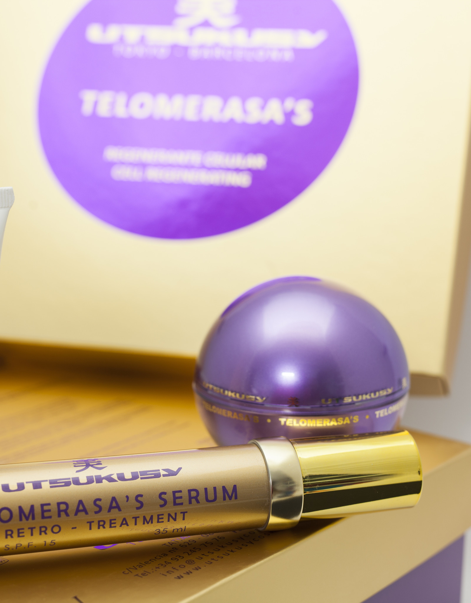 Utsukusy Telomerasa's home care kit