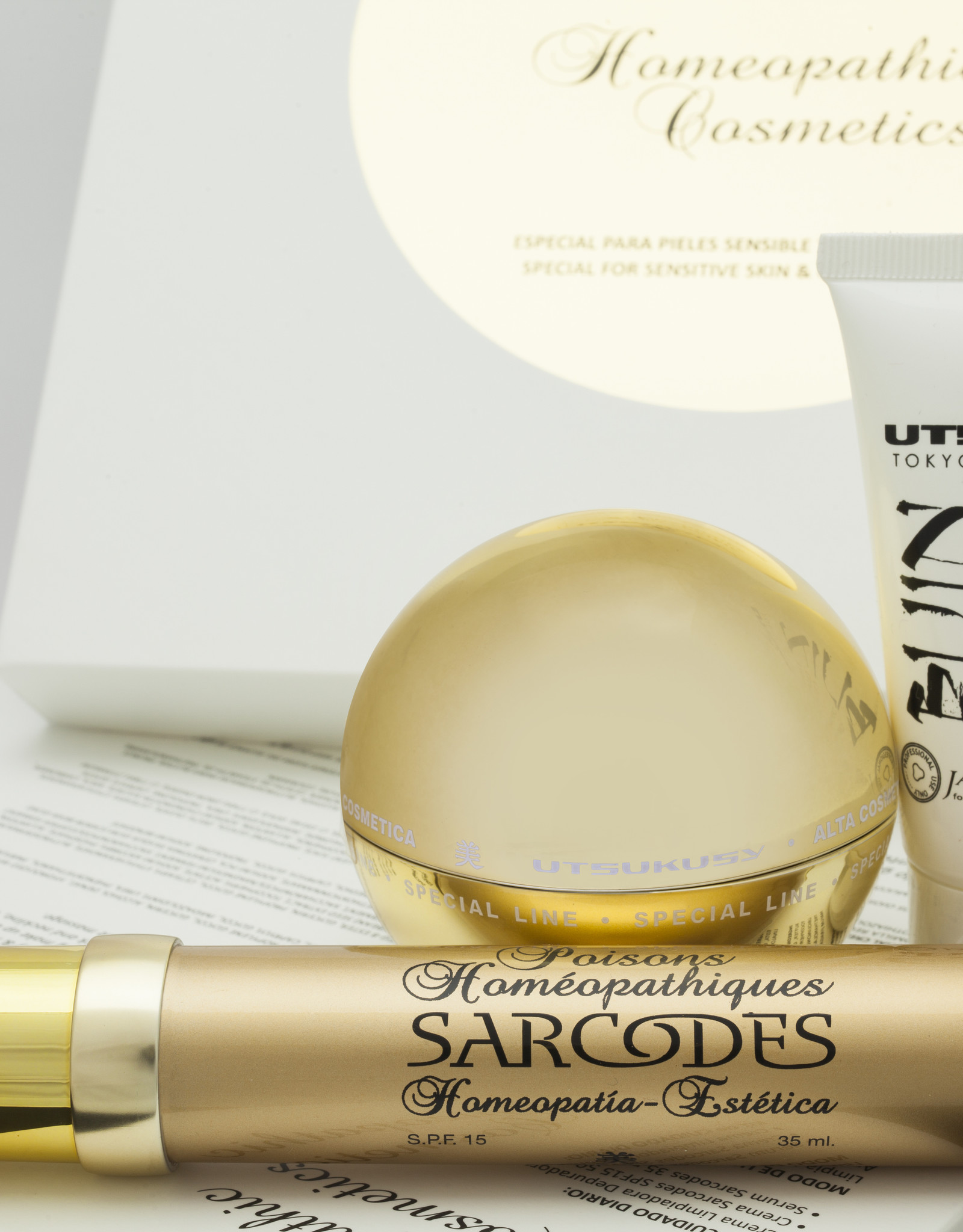 Utsukusy Sarcodes Couperose home care kit
