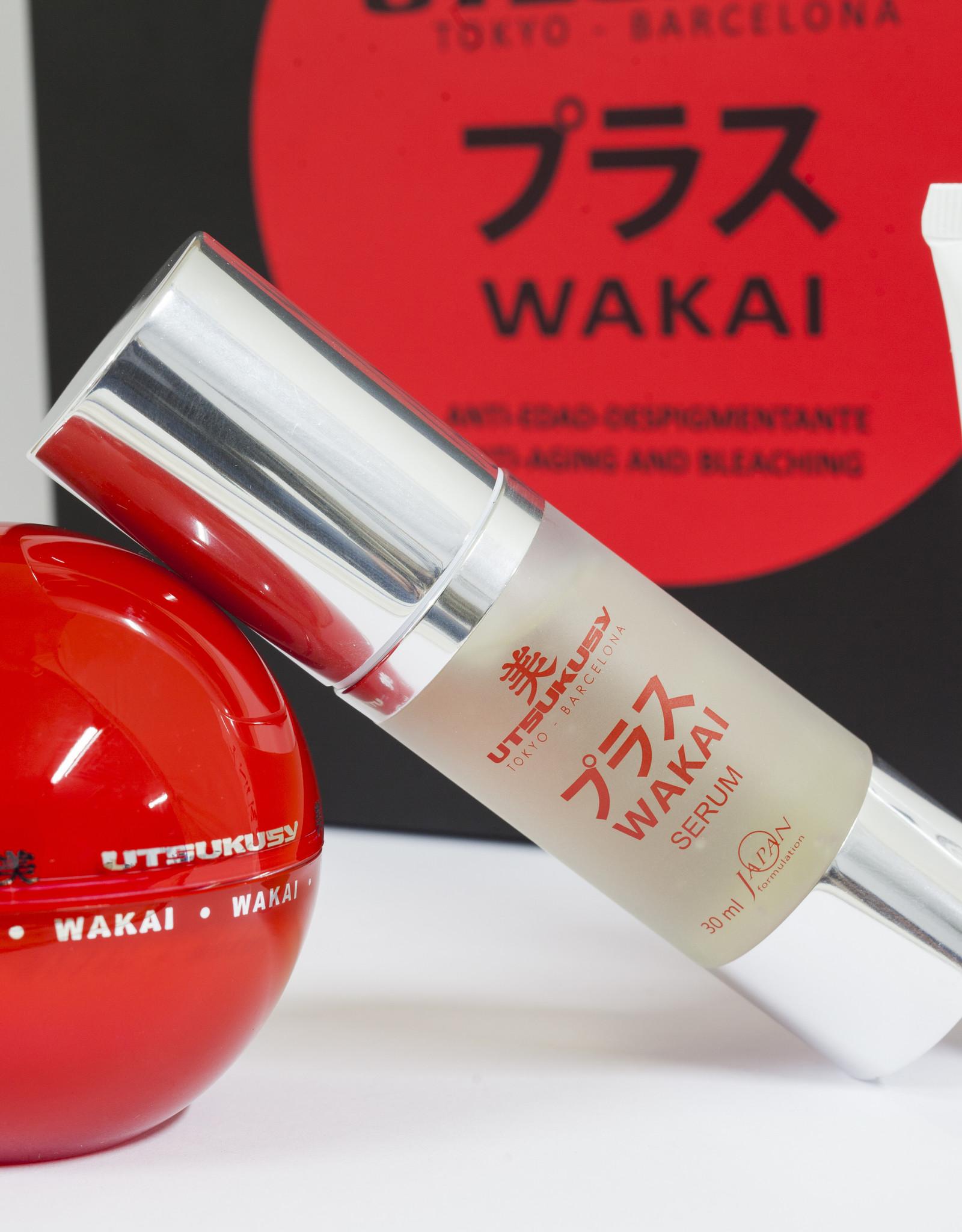 Utsukusy Wakai box tegen pimentvlekken en rimpels
