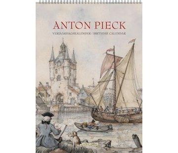 """Comello Anton Pieck A4 """"Zicht op Haven"""" verjaardagskalender"""