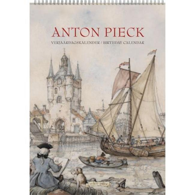 "Comello Anton Pieck A4 ""Harbour View"" Geburtstagskalender"