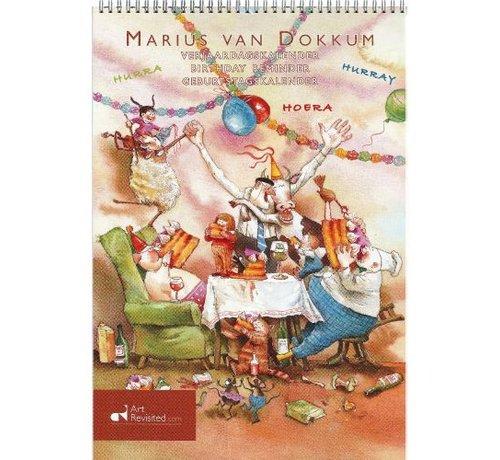 Comello Marius van Dokkum Grandpa Jan Birthday Calendar