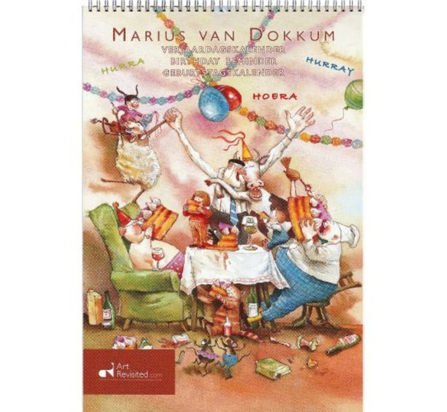 Marius van Dokkum Grandpa Jan Birthday Calendar