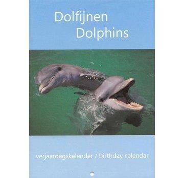 Comello Dolphins Birthday Calendar