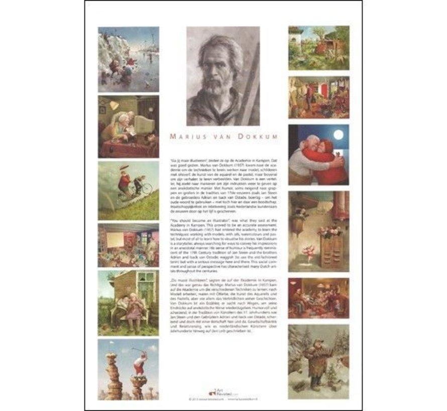 Marius A men`s World Verjaardagskalender