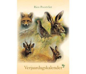 Comello Rien Poortvliet A4 natuur verjaardagskalender