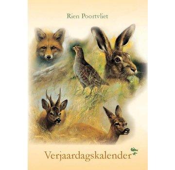 Comello A4 calendrier Rien Poortvliet d'anniversaire de la nature