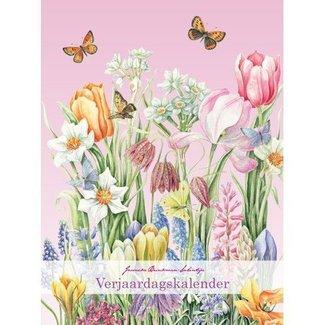 Comello Janneke Brinkman Verjaardagskalender spring flowers
