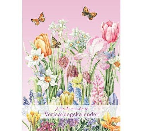 Comello Janneke Brinkman Verjaardagskalender voorjaarsbloemen