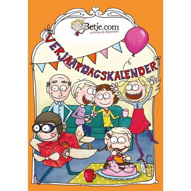 Betje.com A4 Geburtstagskalender