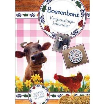 Comello Boerenbont Verjaardagskalender A4