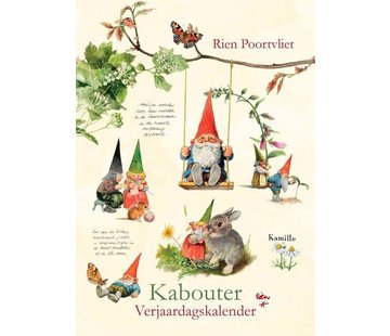 Comello Rien Poortvliet A4 leprechaun birthday calendar