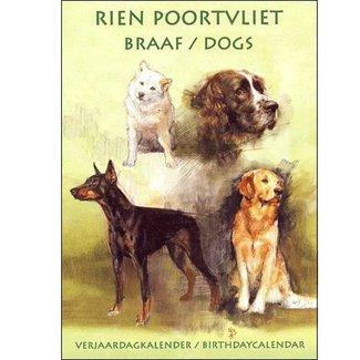 Comello Rien Poortvliet Obedient Geburtstagskalender Gelb