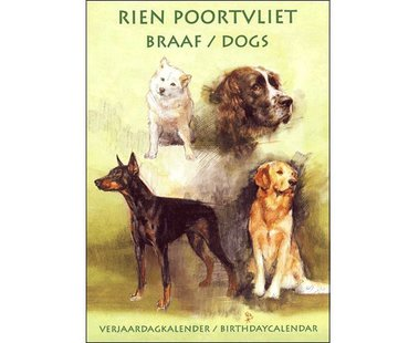 Comello Rien Poortvliet Obedient birthday calendar Yellow