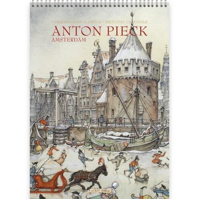 Comello Anton Pieck Amsterdam Geburtstagskalender
