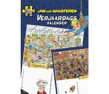 Comello Jan van Haasteren Birthday Calendar