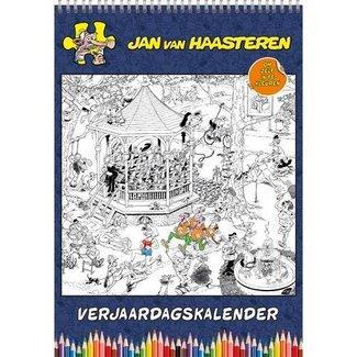 Comello Jan van Haasteren Birthday Calendar Coloring