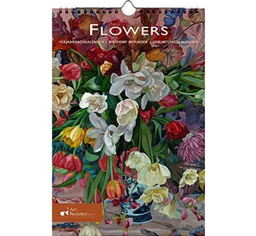 Blumen Geburtstagskalender