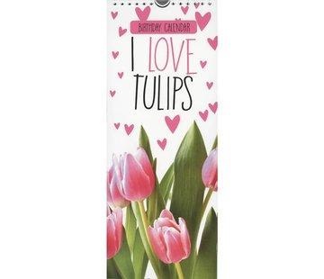 Inter-Stat Tulips Birthday Calendar