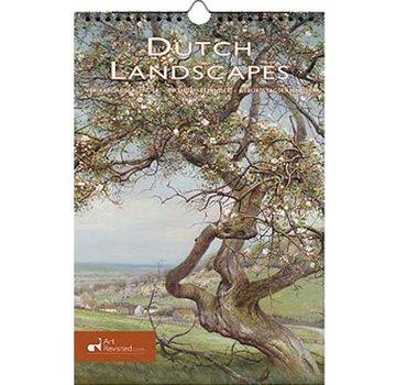 Comello Dutch Landscapes Birthday Calendar