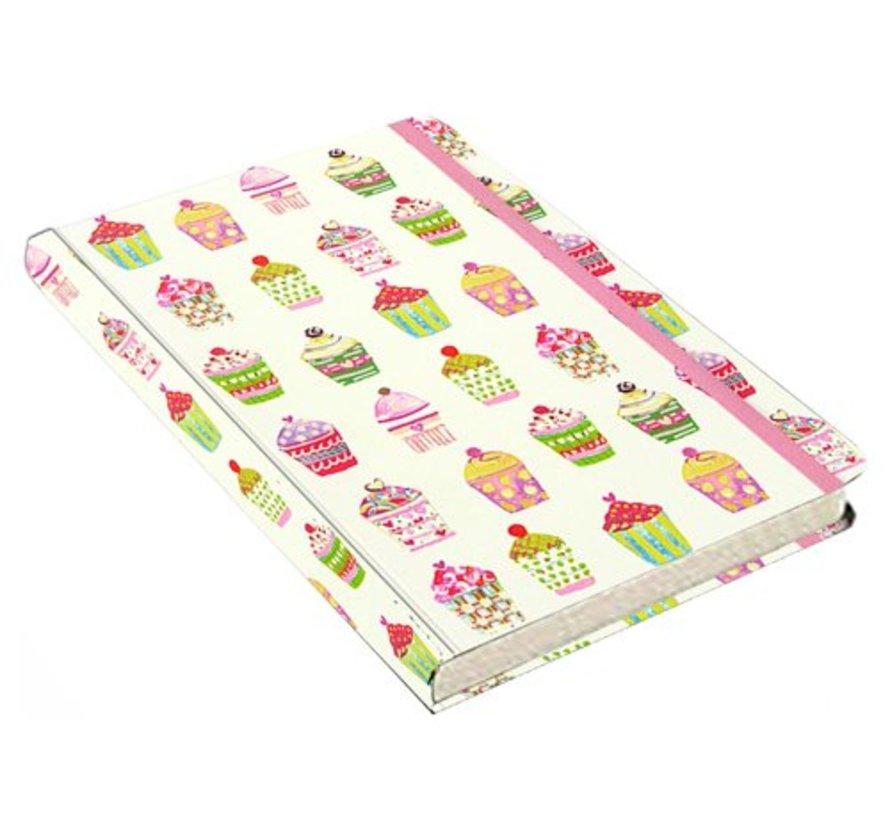 Cupcakes Notitieboek Compact (A6)