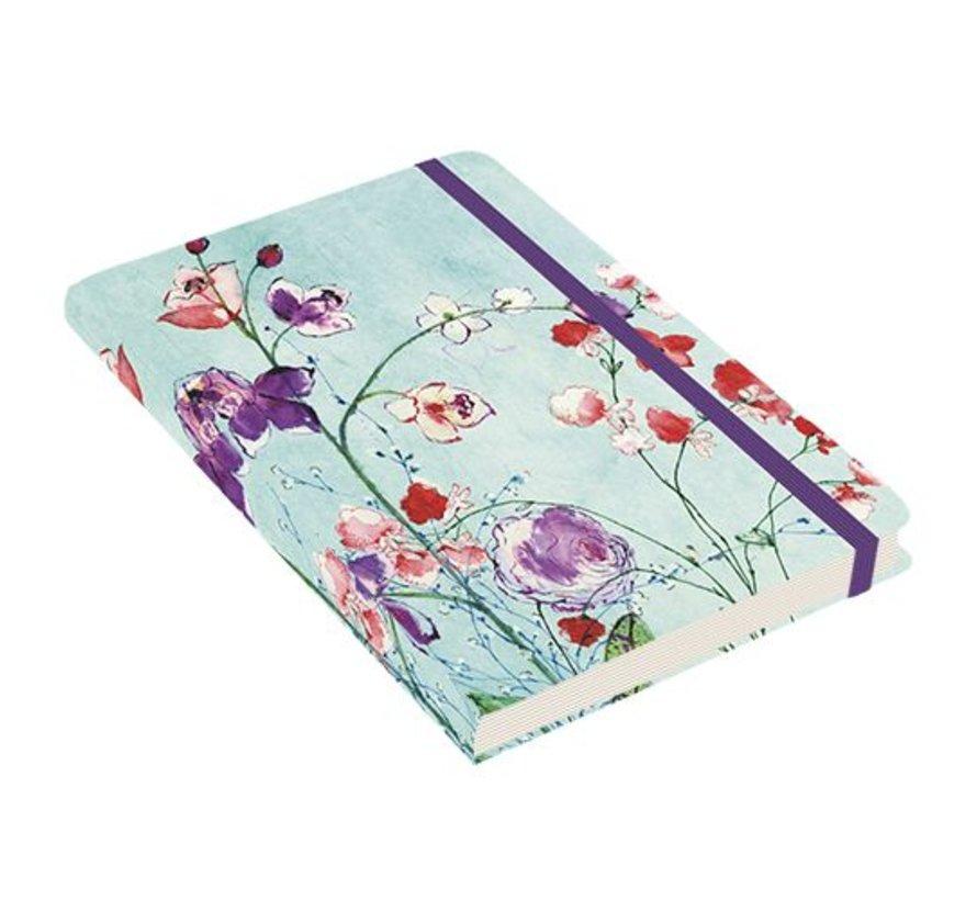 Fuchsia Blooms Notitieboek compact (A6)