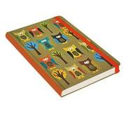 Peter Pauper Owls Notitieboek mid-size (A5)