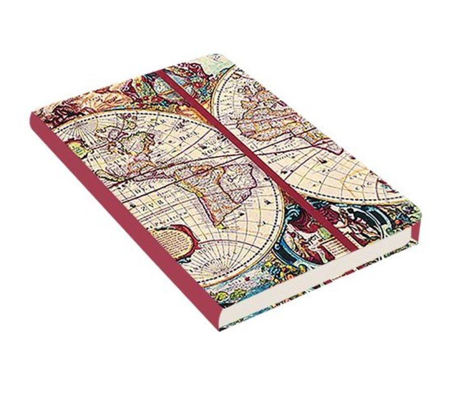 Old World Notebook mittelgroße (A5)