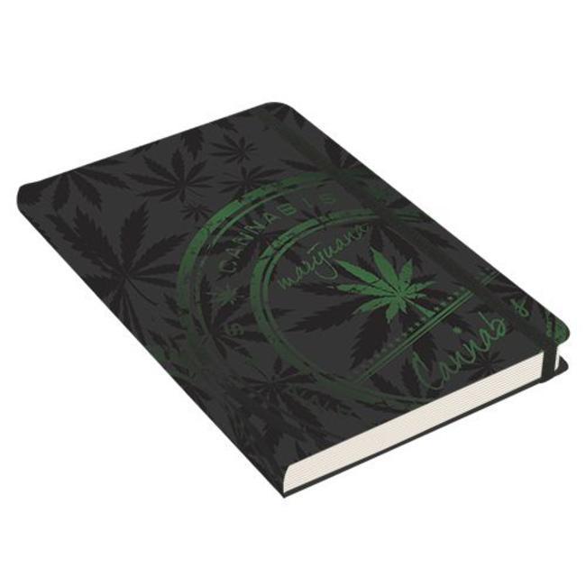 Peter Pauper Cannabis Notitieboek mittlere Größe (A5)