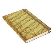 Peter Pauper Music Notebook mid-sized (A5)