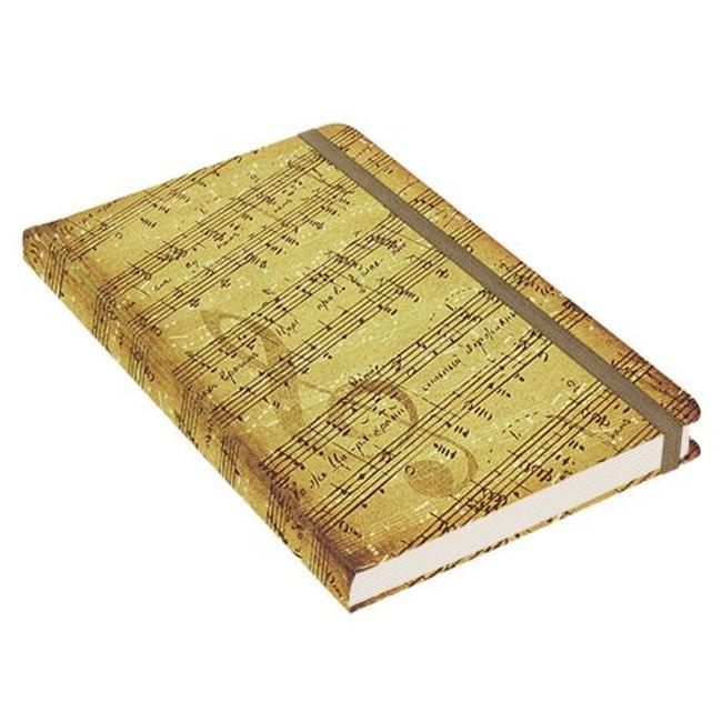 Peter Pauper Music Notebook mittelgroße (A5)