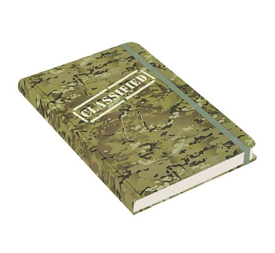 Camouflage Notitieboek mid-size (A5)