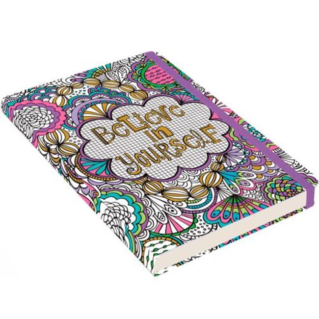 Believe in Yourself notitieboek compact (A6)