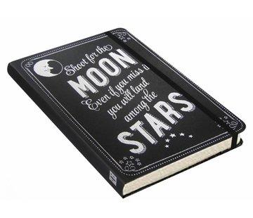 Comello Shoot for the Moon Notitieboek compact (A6)