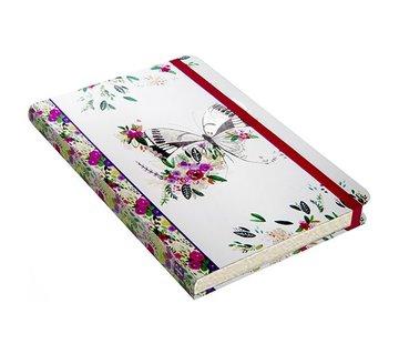 Comello Schmetterling Meadow Notitieboek mittelgroße (A5)