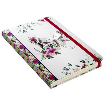 Comello Butterfly Meadow Notitieboek mid-size (A5)
