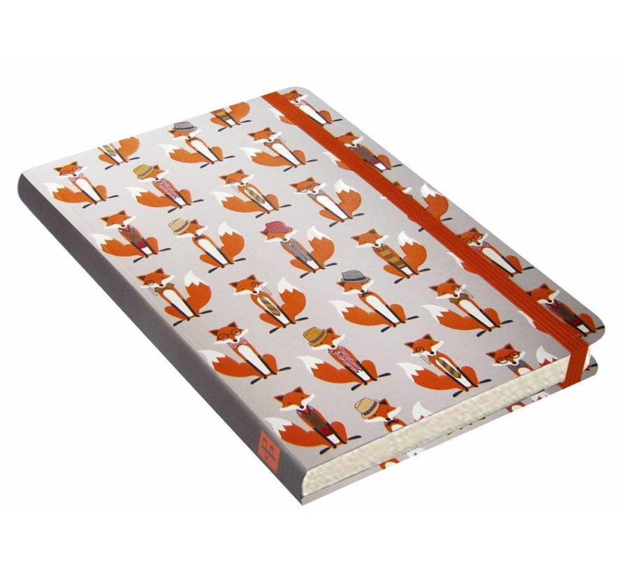 Dapper Foxes Notitieboek mid-size (A5)