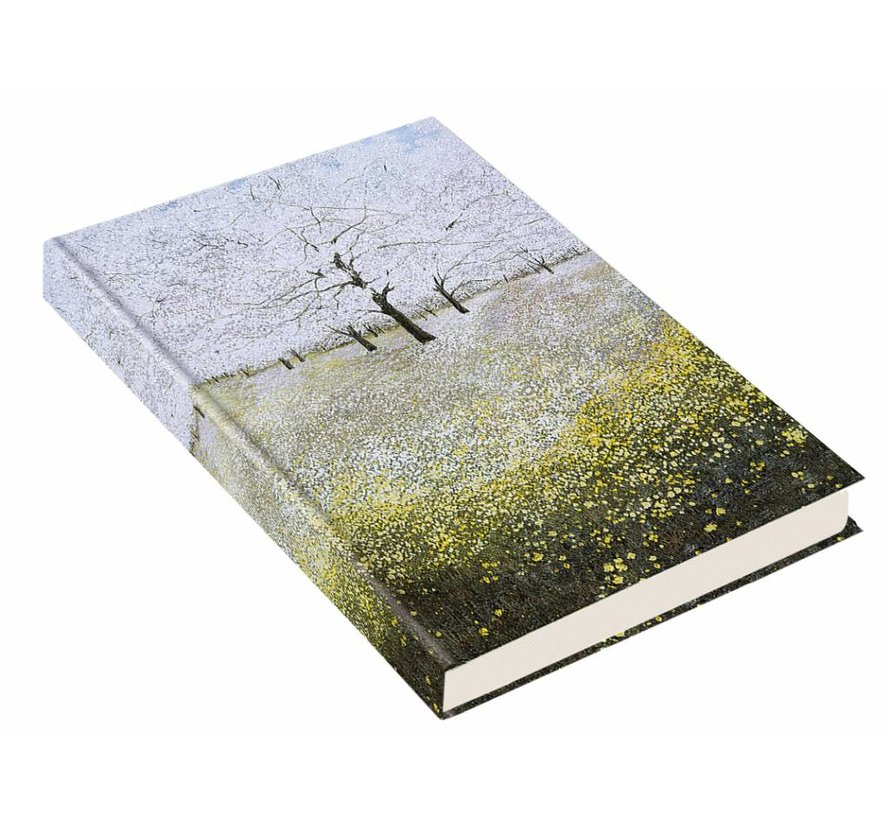 Les arbres en fleurs Notebook Oversize