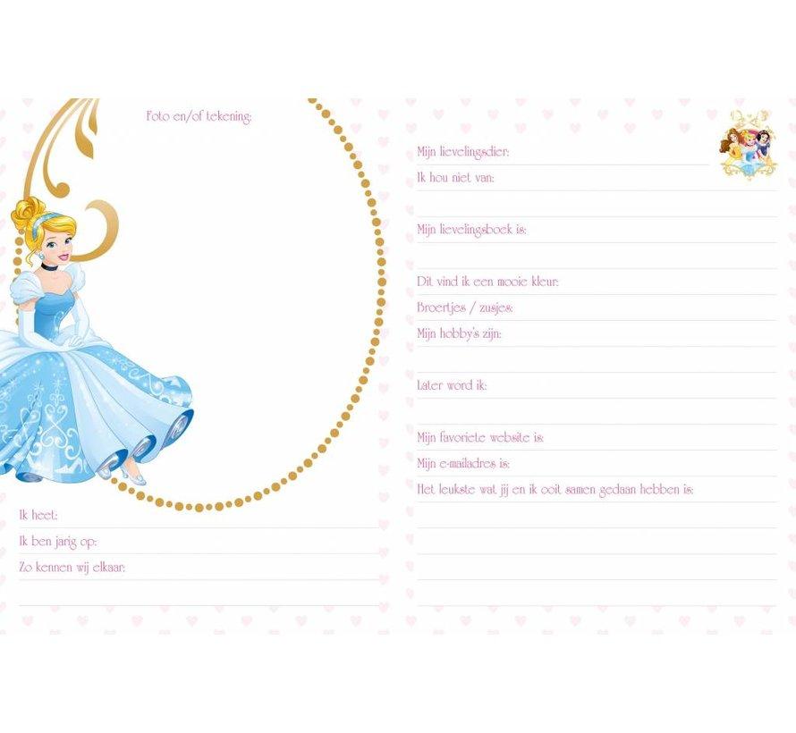 Disney Prinsessen Vriendenboekje