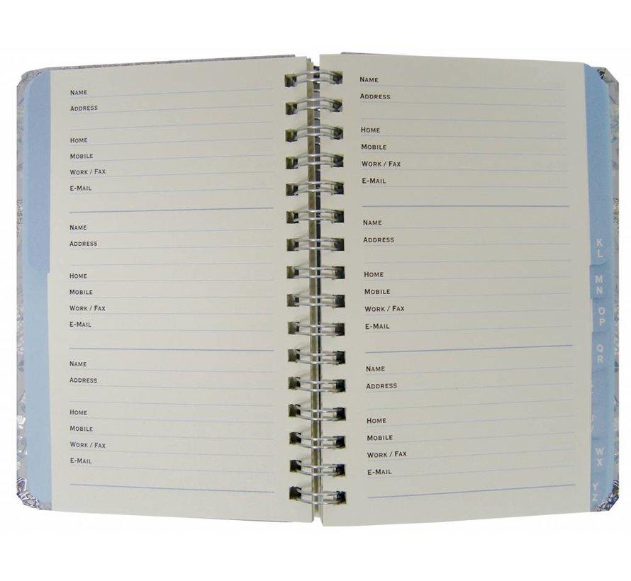 Dusky Meadow Adresboekje zakformaat