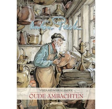 "Comello Anton Pieck ""Old Crafts"" Birthday Calendar"